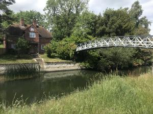 Little Wittenham footbridge
