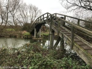 Tenfoot Bridge nr Chimney
