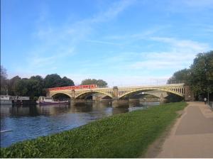 Richmond Railway Bridge & Twickenham Bridge